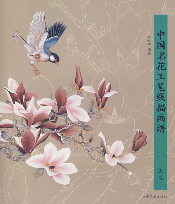 【国画】工笔(写意)玉兰花的步骤画法