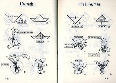 口布折花详细步骤图
