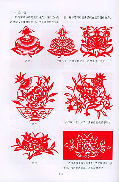 花草纹样剪法——民间剪纸技法研究