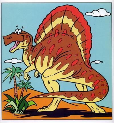 卡通恐龙篇7——学画卡通画系列丛书