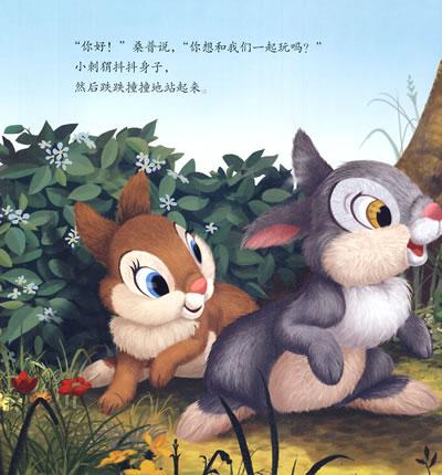 迪士尼班尼兔图画书:好朋友小刺猬
