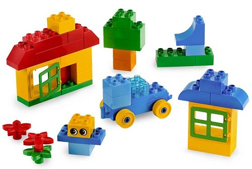 lego 乐高 得宝颗粒创意桶