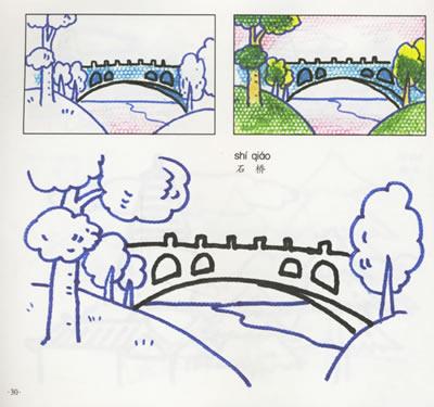 乘车记忆儿童画
