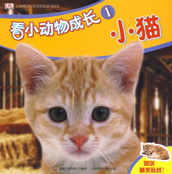 看小动物成长1:小猫:图书:价格比较:琅琅比价网